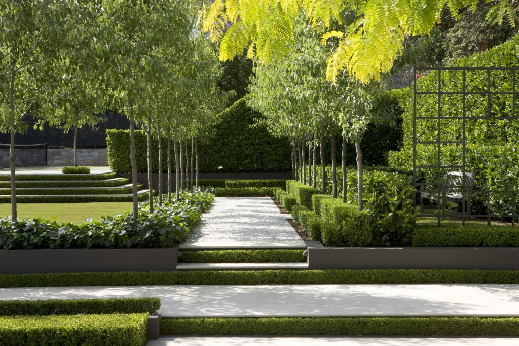 landscape modern garden design - photo #2