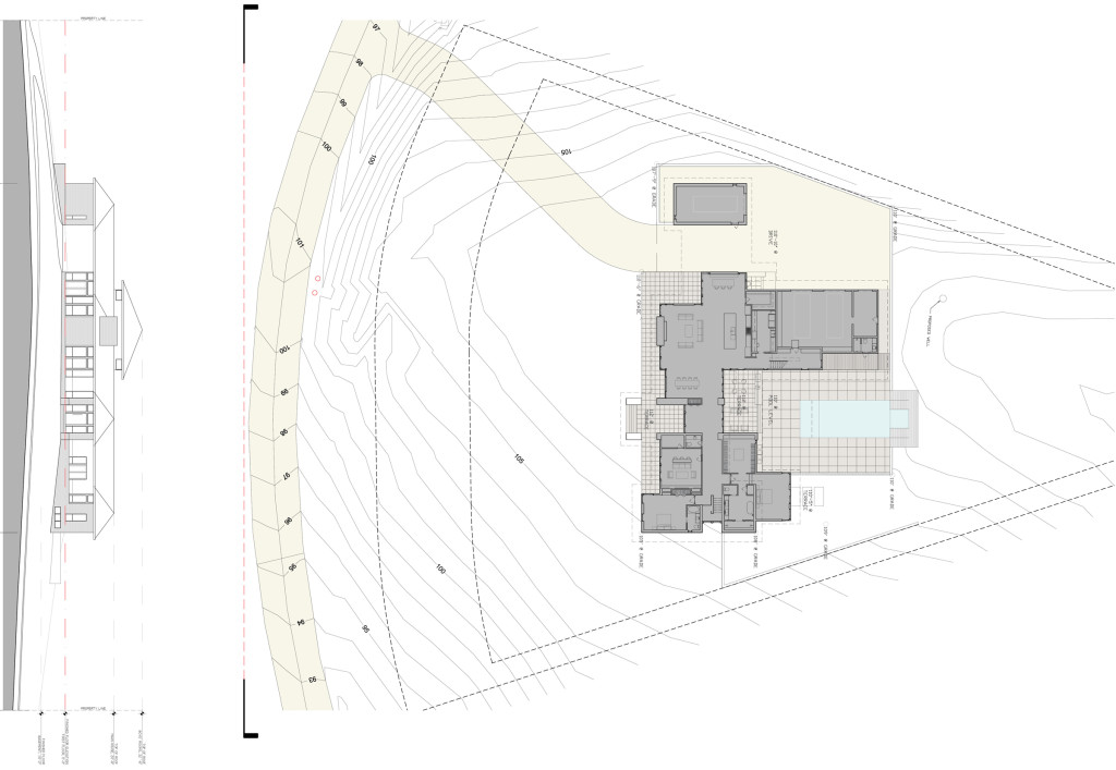 Architectural Drawings: Sections, Site Plan + Structure