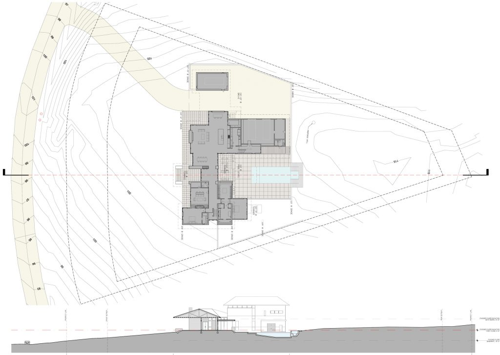 What to expect from your architect sections site plans for Site plan drawing online