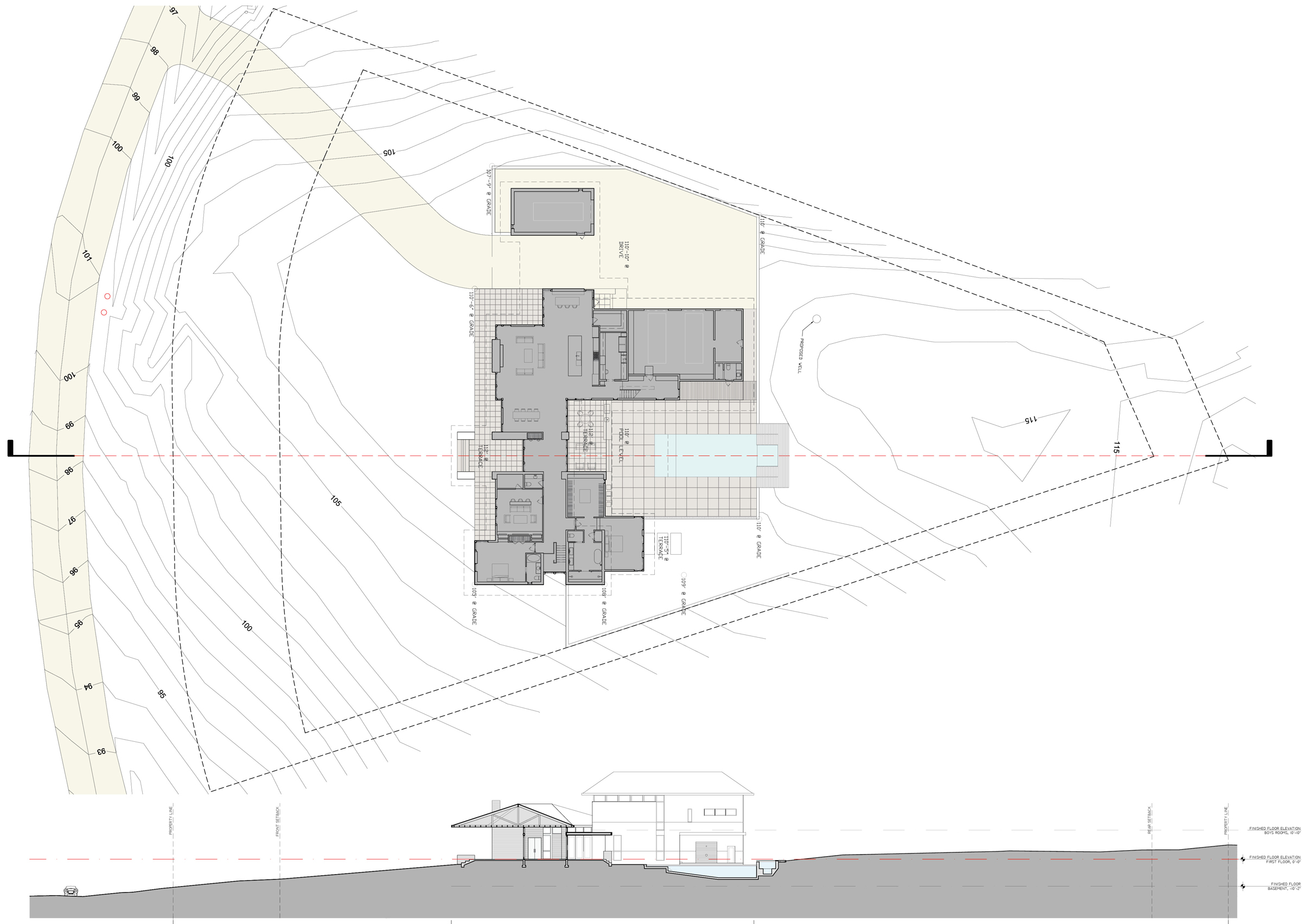 What To Expect from Your Architect Sections Site Plans Structure – Site Drawings For Site Plan