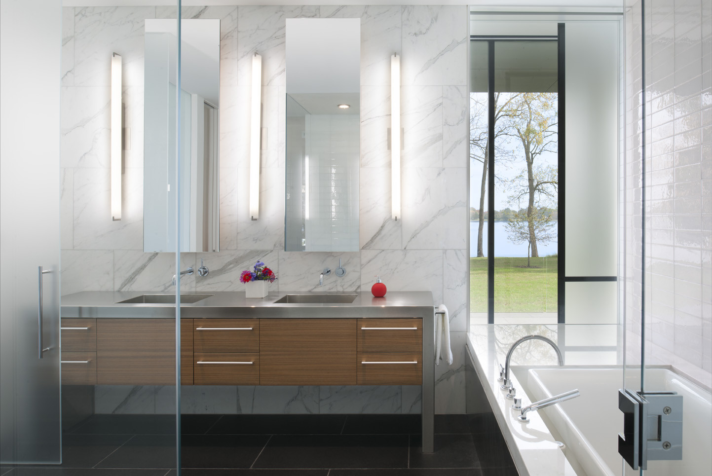 Bathroom Designs Usa residential design inspiration: modern master bathrooms - studio