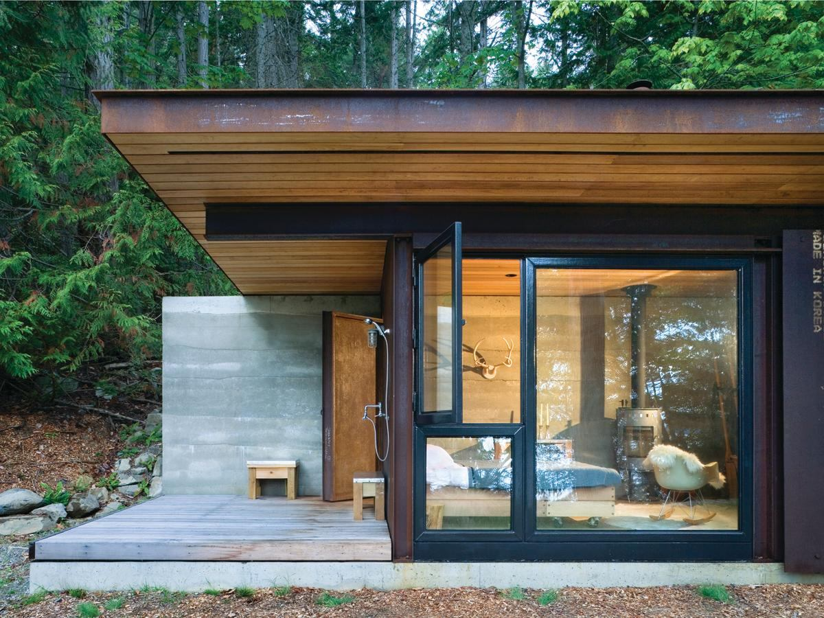 Modern Cabins: Salt Spring Cabin By Tom Kundig