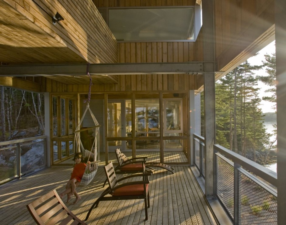 Modern Residential Architecture Outdoor Living Space