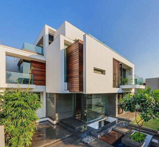 Residential Design Inspiration Modern Materials White Wood