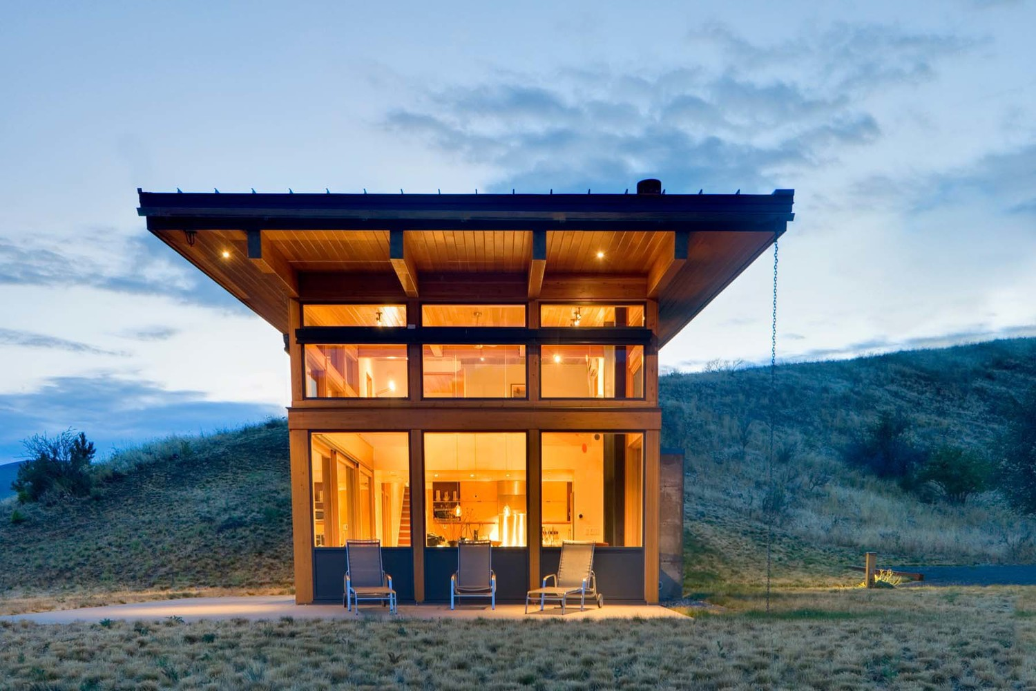 02a Nahahum Canyon Cabin Balance Associates Architects