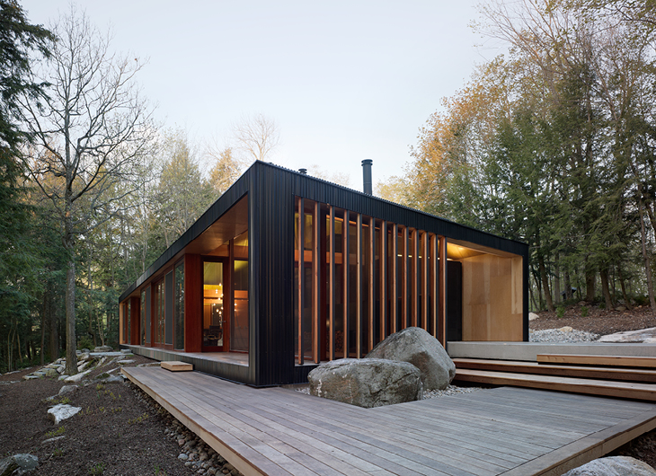 Design Inspiration: Modern Cabin Love - Studio Mm Architect