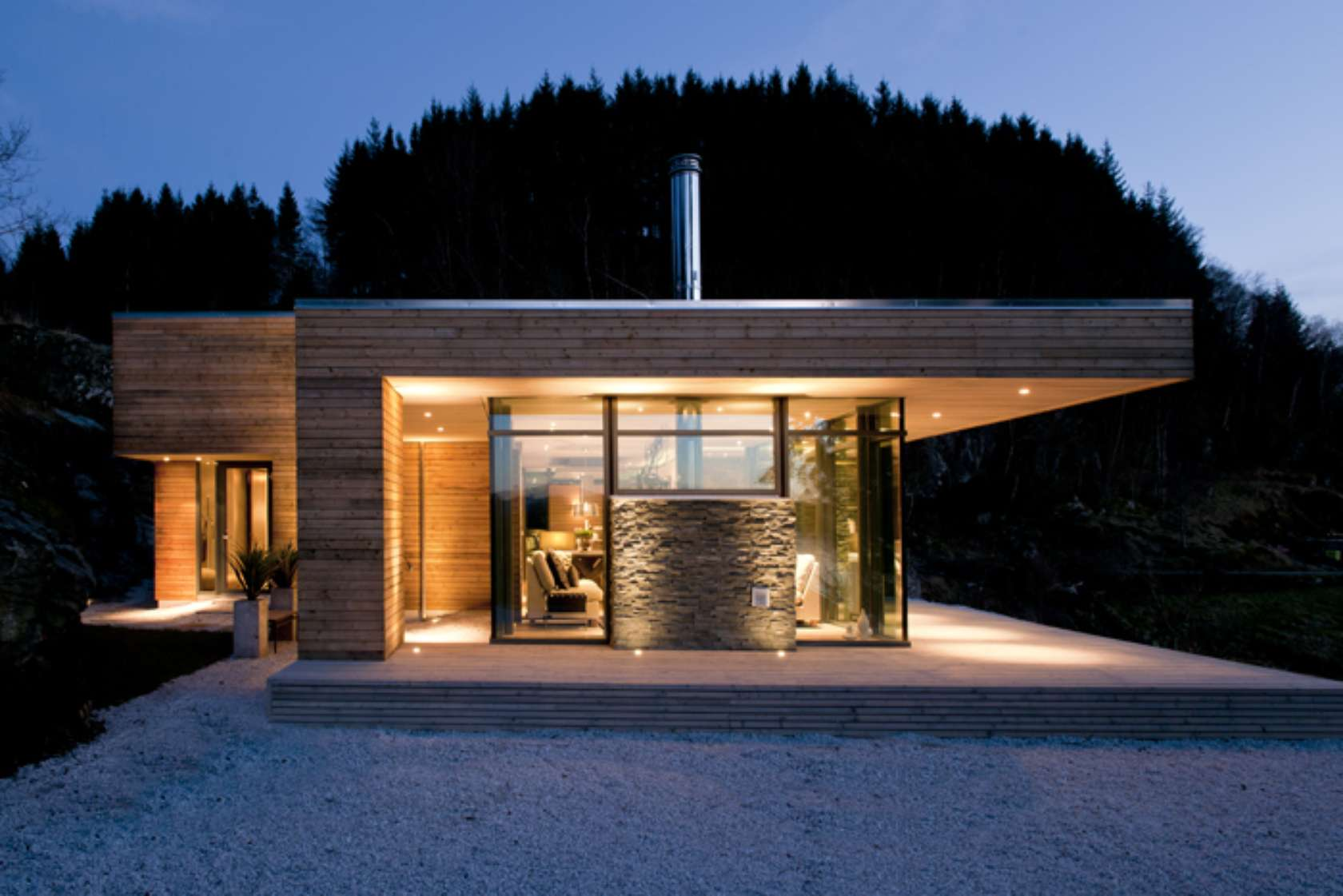 Design inspiration modern cabin love studio mm architect - Chalet modern design ...