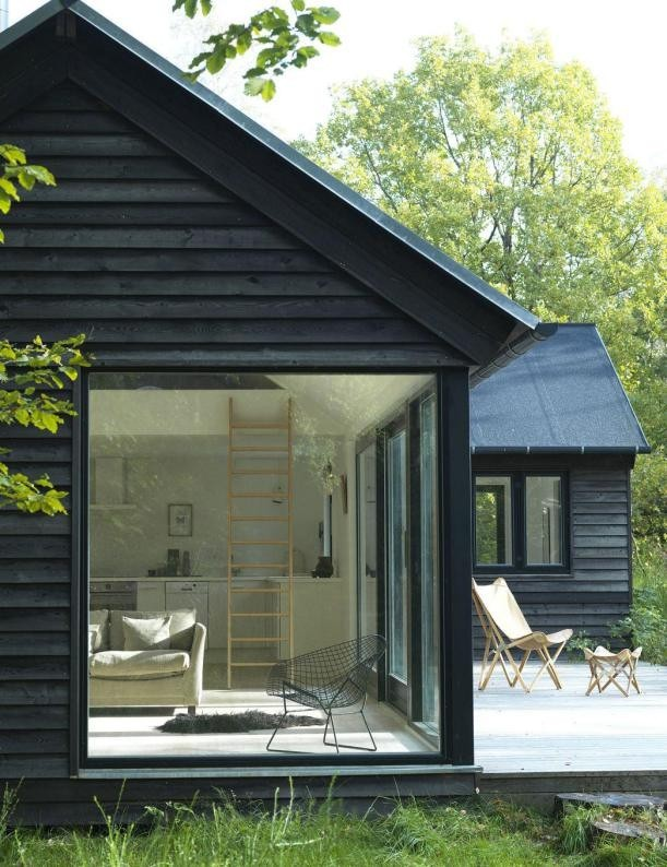 Mesmerizing Window Design For Small House To Be Inspired By: Modern Design Inspiration: Black Houses