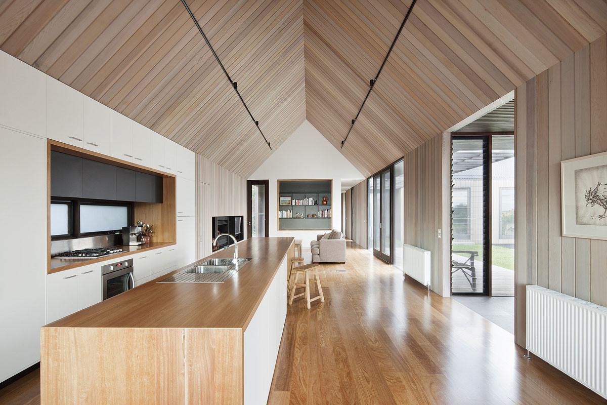 Merveilleux Residential Architecture Inspiration: Modern Wood Kitchen ...