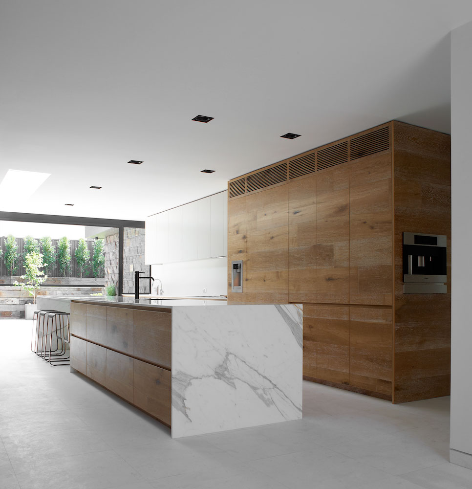 Residential design inspiration modern wood kitchen for Modern kitchen interior
