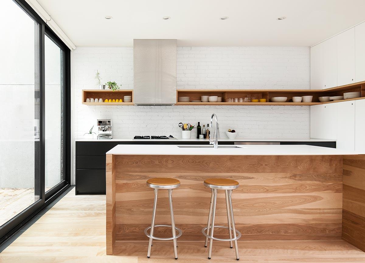 Residential Design: Residential Design Inspiration : Modern Wood Kitchen