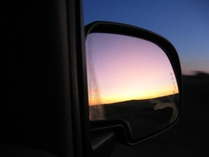 Side Mirror - Summer : A Reflection