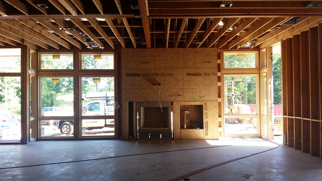 Modern Home Construction Update - Lake Wylie SC