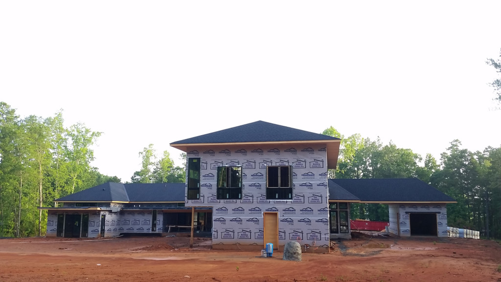 Modern Home Construction Update : Lake Wylie House