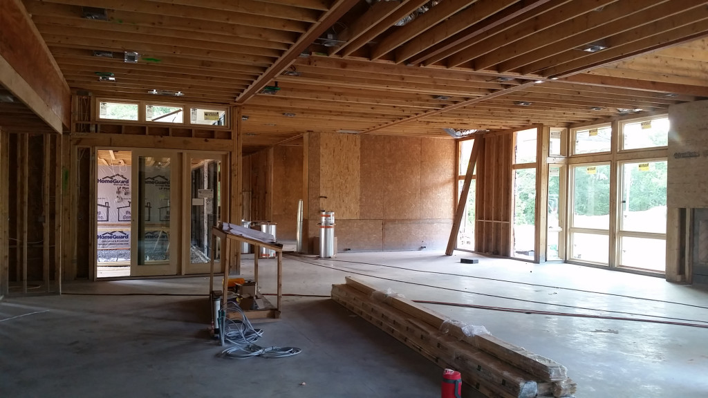 Lake Wylie House - COnstruction Update