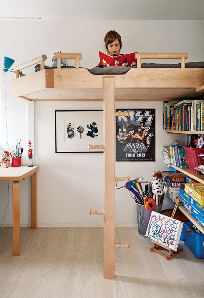 Modern Bunk Bed: Contemporary Home Design