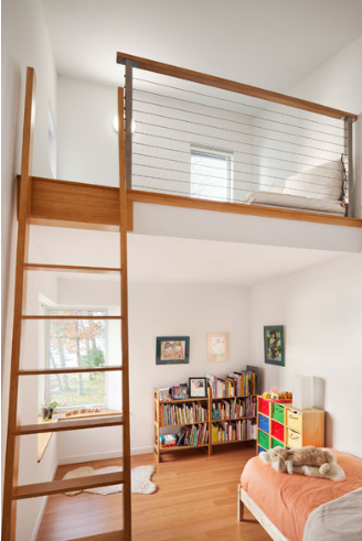 Modern Residential Architecture: Bunk Beds, Playroom Design