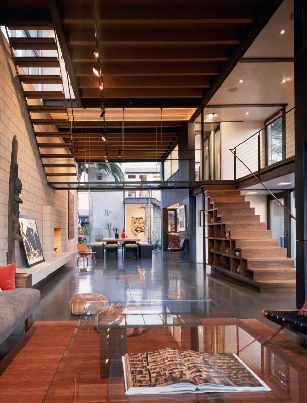 Modern Residence: Modern Stair Design