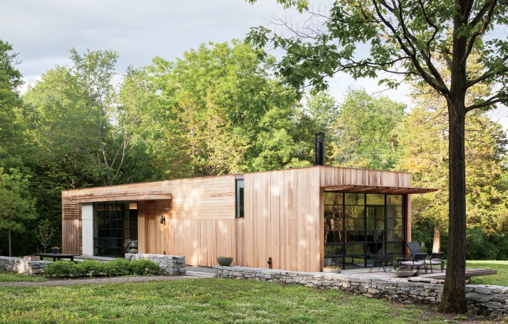 small modern home simple yet spectacular studio mm ForModern House Upstate Ny
