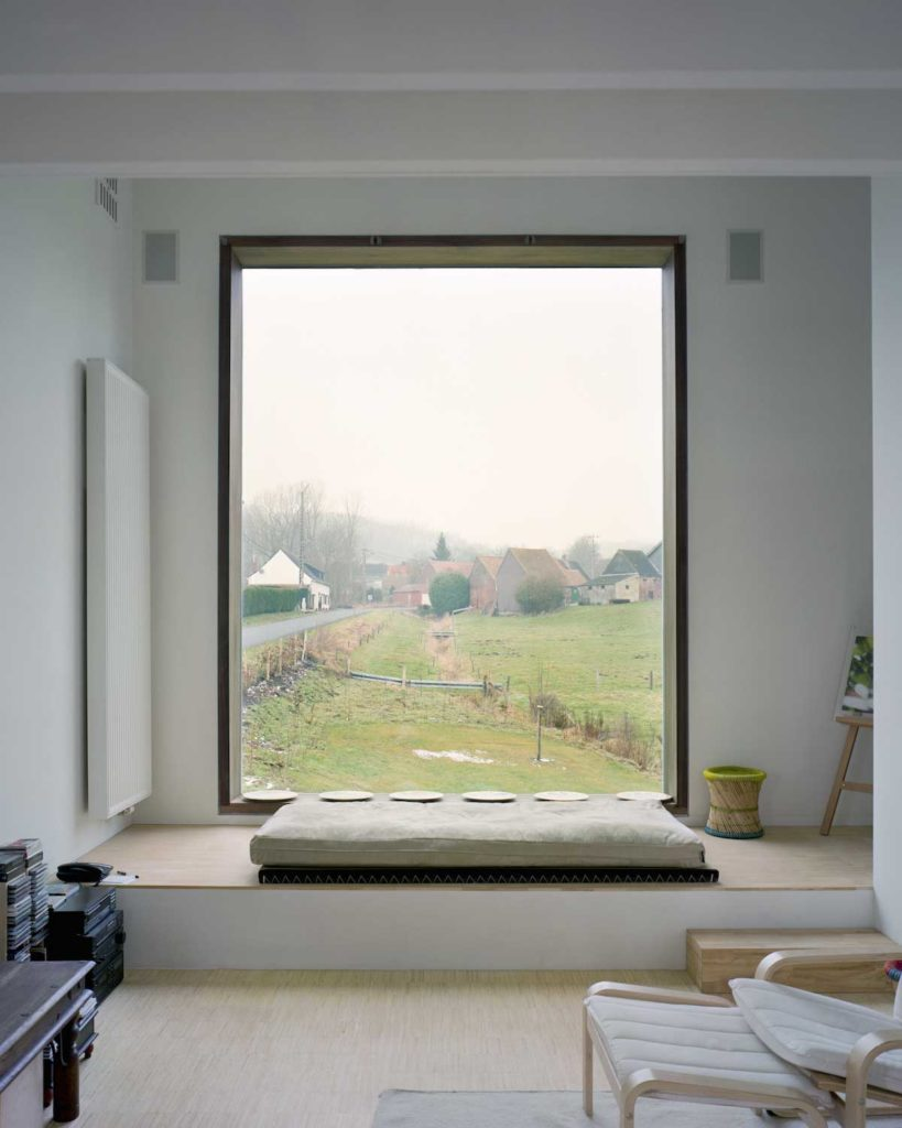 Residential design inspiration modern window seat - Window design for home ...