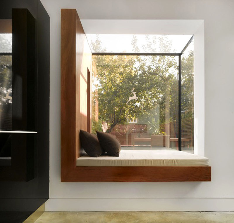 Decorating Ideas 15 Window Seats: Residential Design Inspiration: Modern Window Seat