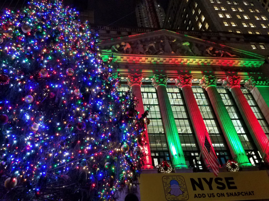 NYSE Holiday Spirit