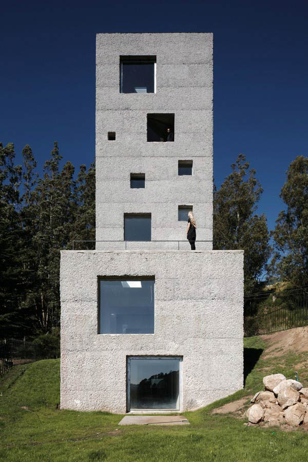 Modern design inspiration tower house studio mm architect for Modern tower house designs