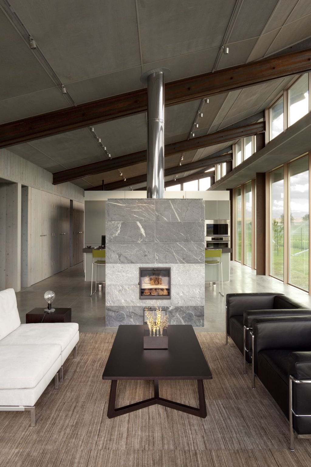 Modern Fireplaces Residential Design Inspiration Modern Central