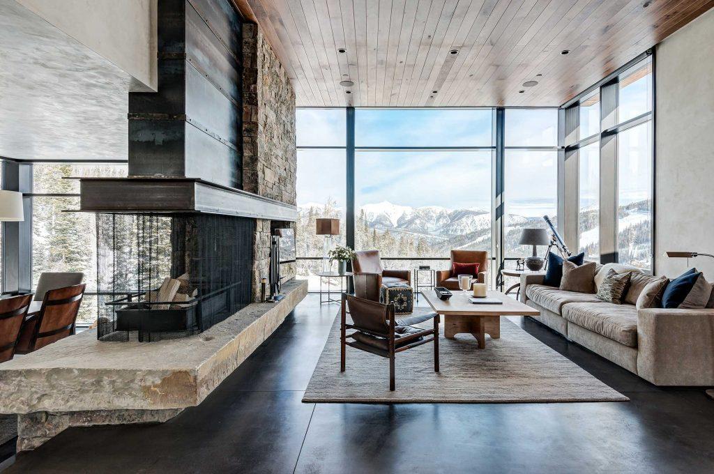 Modern Mountain - Modern Fireplace Inspiration