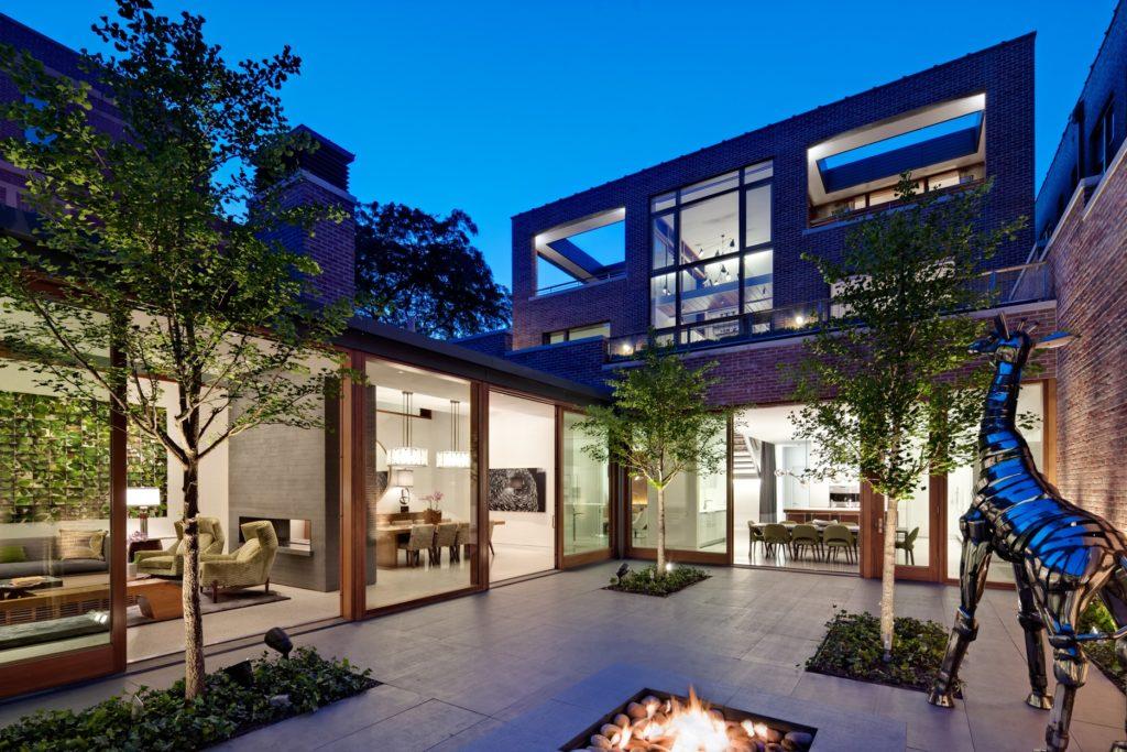 Modern Residences - Fireplace Inspiration