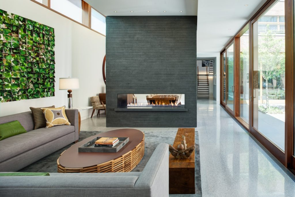 Modern Fireplaces - Residential Architecture Inspiration