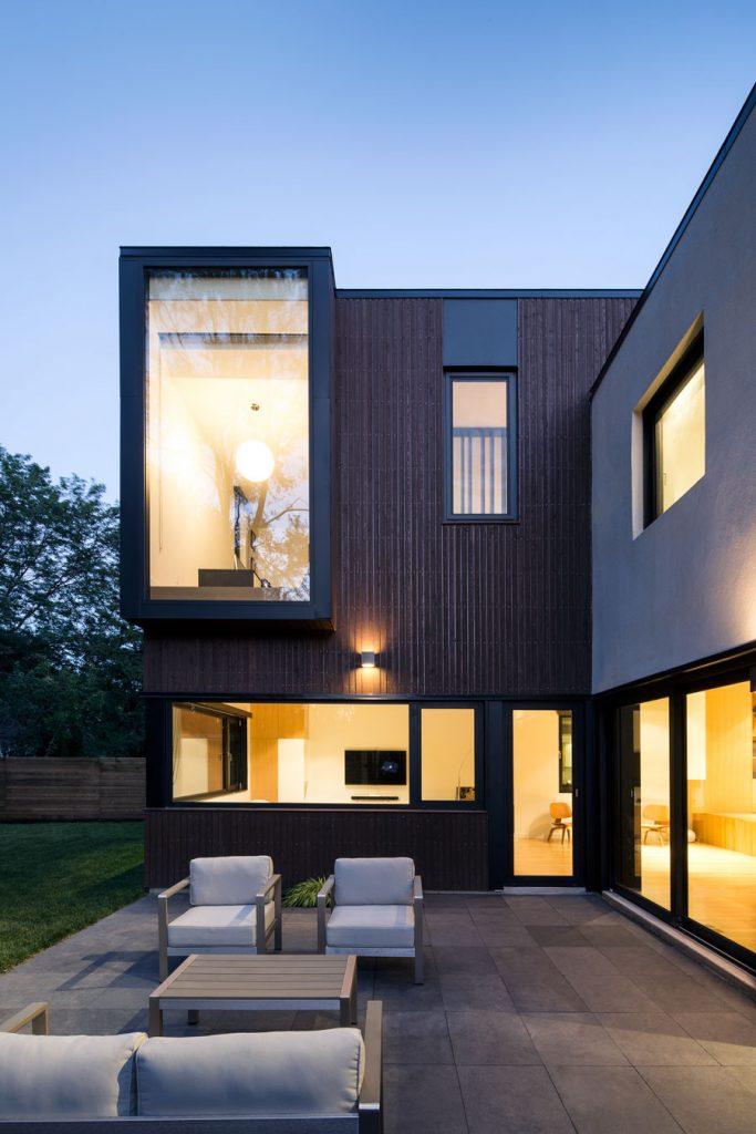 Residential Design Inspiration - Modern Bay Windows