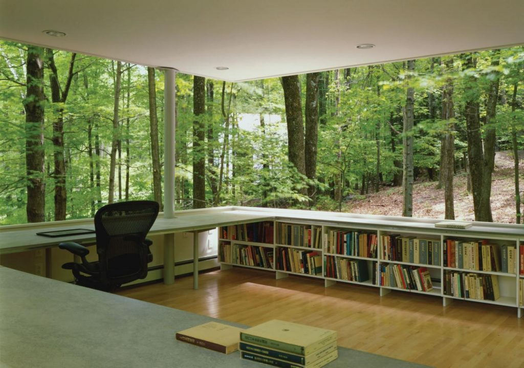 Modern Studio Space Design: Scholar's Library by Gluck+