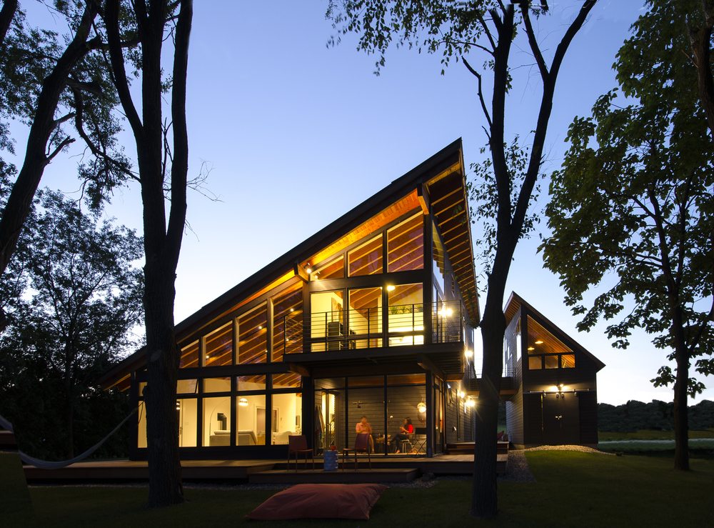 Modern Homes with Attached Studios