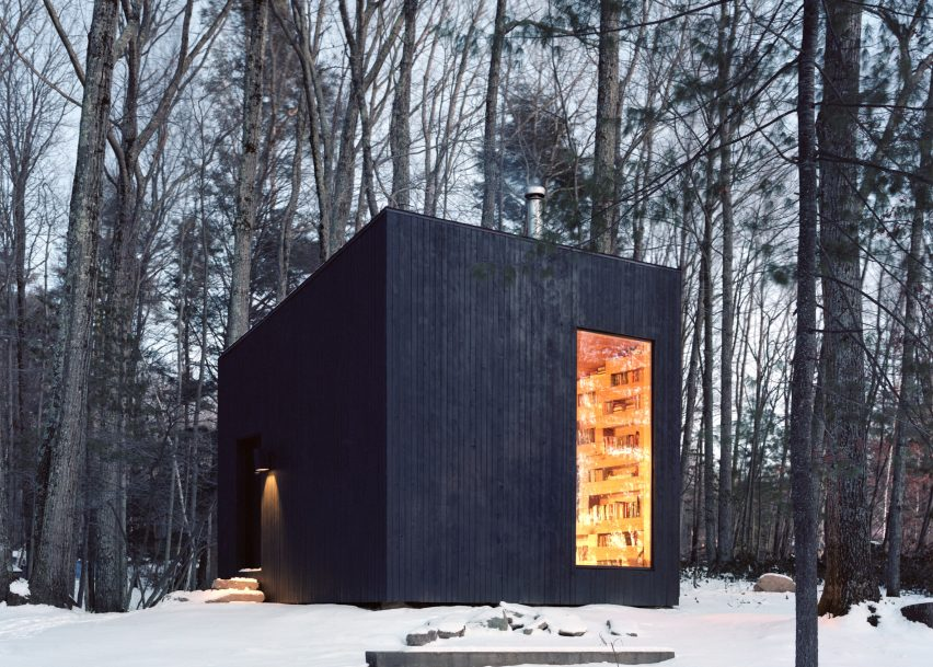 Cabin Library - Modern Studio Spaces