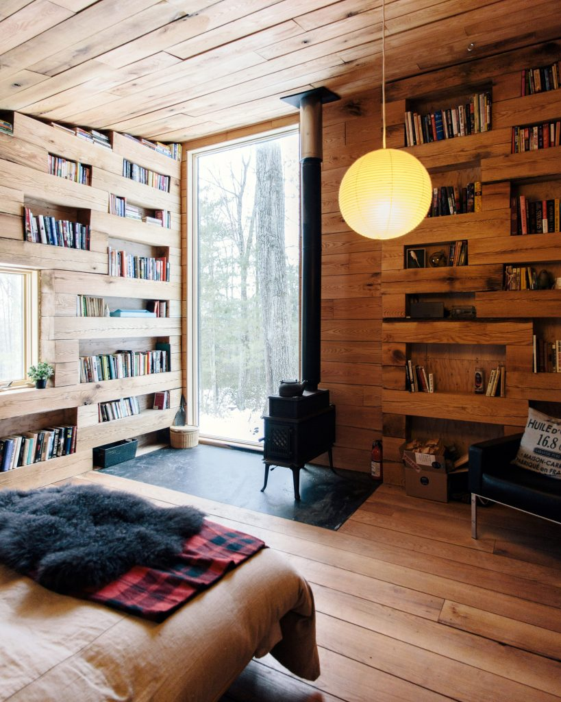 Modern Studio + Library