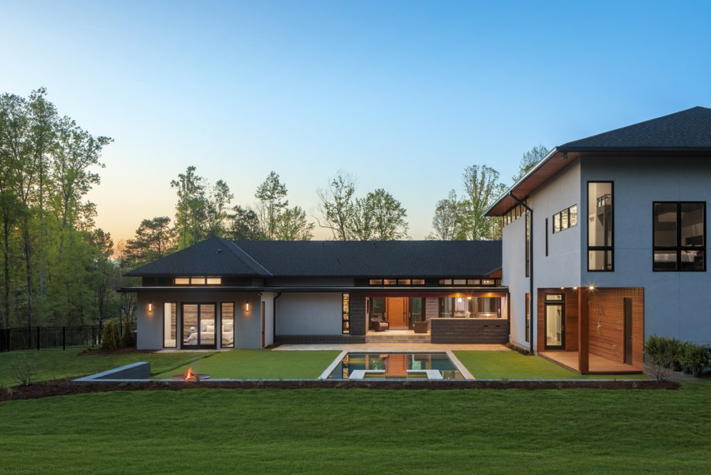 Lake Wylie House by Studio MM Architect