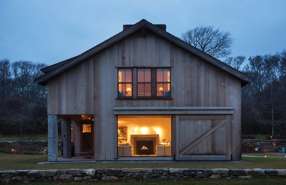 Residential design inspiration modern barns studio mm for Modern pole barn homes