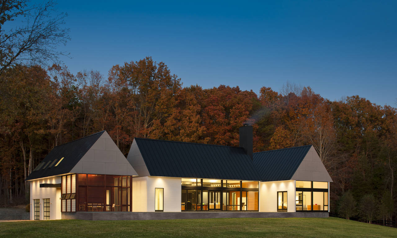 Residential Design Inspiration: Modern Farmhouses