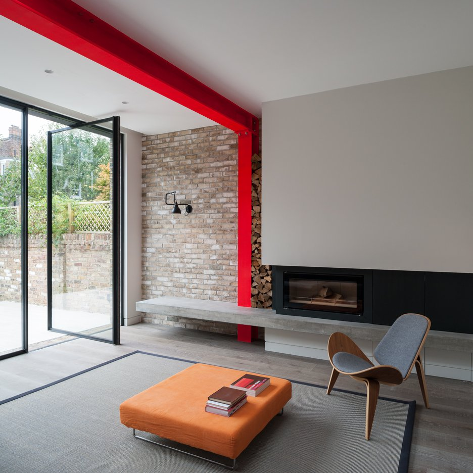 Modern Design - Pop of Color in your Home