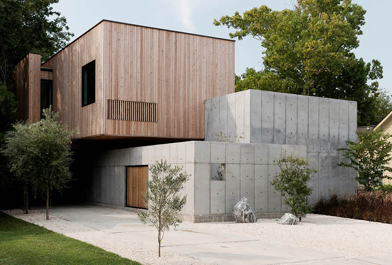 Residential Design Inspiration: Modern Concrete Homes