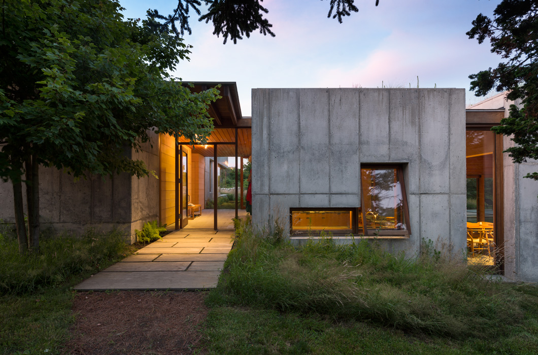 East House By Peter Rose   Modern Concrete Homes
