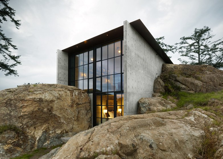 The Pierre by Olson Kundig - Contemporary Concrete Homes