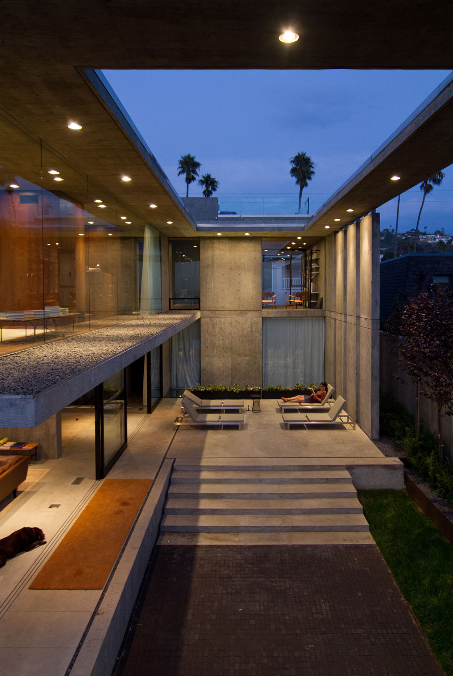 Modern Design Ideas and Inspiration: Concrete Houses