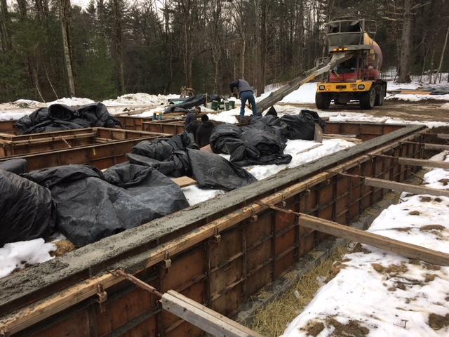 Construction Update: Chalet Perche