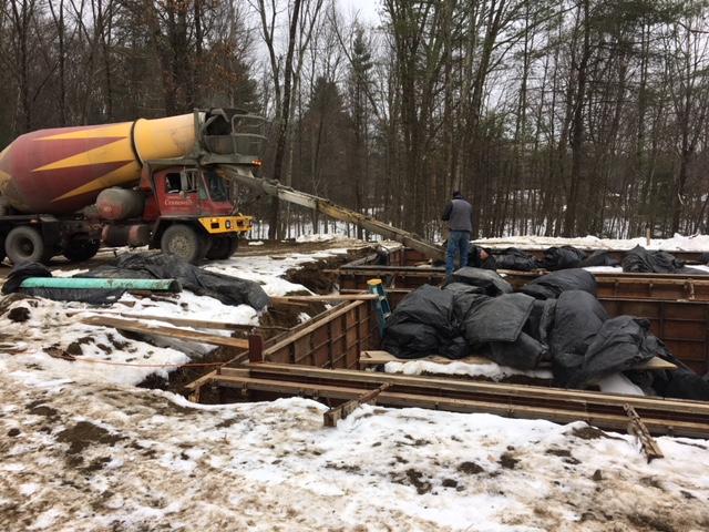 Chalet Perche: Modern Home under construction