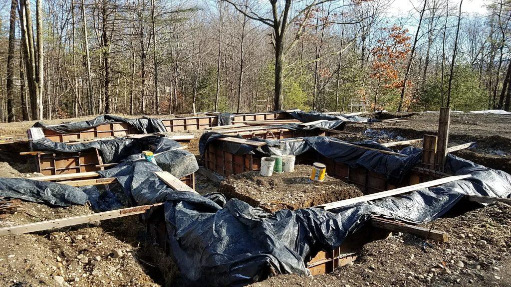 Chalet Perche Under Construction