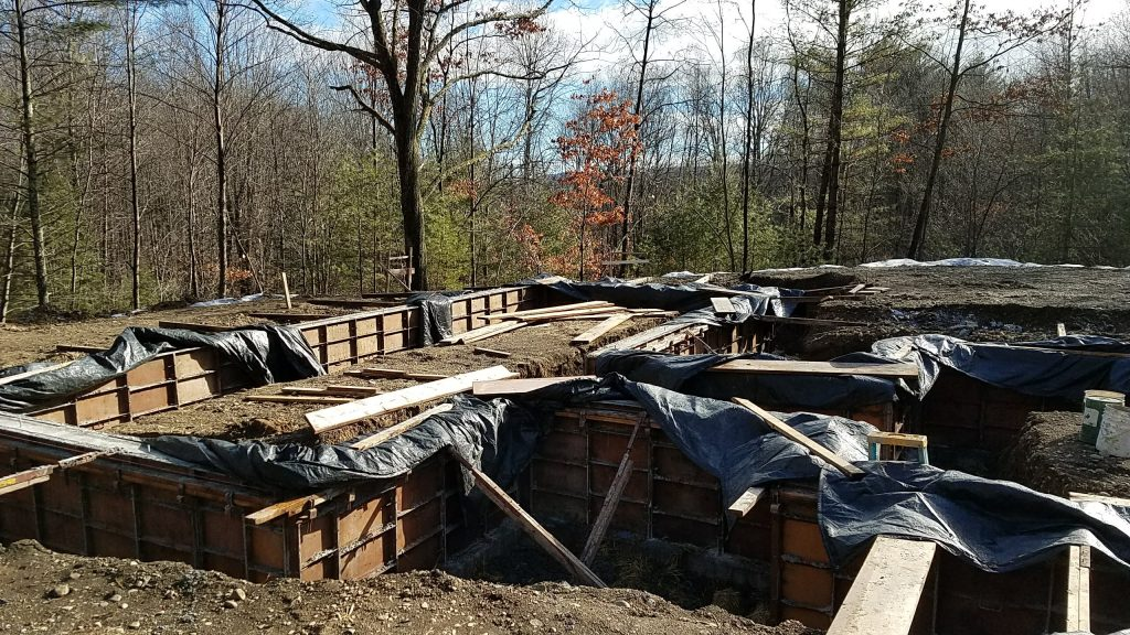 Construction Update: Modern Home in the Hudson Valley