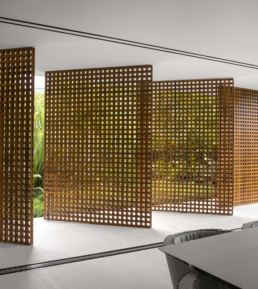 Residential design inspiration modern wood screens
