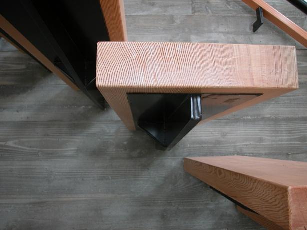 Cantilever Detail Modern Stair Design